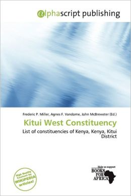 Kitui West Constituency