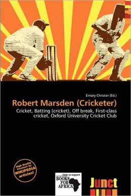 Robert Marsden (Cricketer)