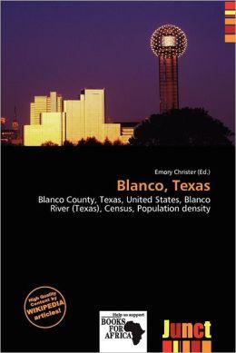 Blanco, Texas