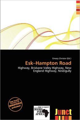 Esk-Hampton Road