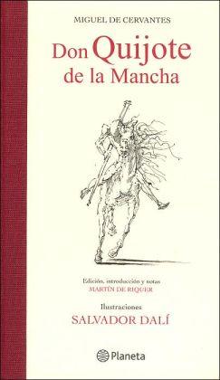 Don Quijote de la Mancha. Ilustrado por Salvador Dali
