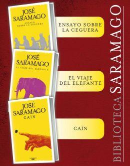 Biblioteca Saramago (Pack 3 ebooks): Ensayo sobre la ceguera, El viaje del elefante, Caín y el primer capítulo inédito del libro perdido Claraboya