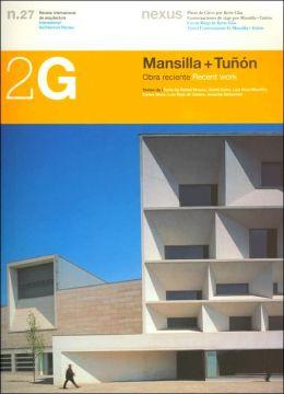 2G-N27: Tunon & Mansilla