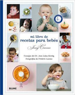 Mi libro de recetas para bebes