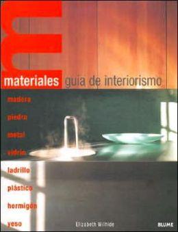 Materiales Guia de Interiorismo