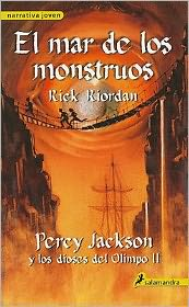 El mar de los monstruos (The Sea of Monsters: Percy Jackson and the Olympians Series #2)