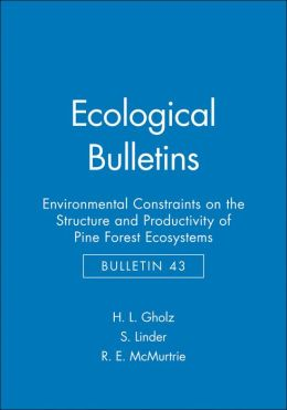 Ecological Bulletins, Environmental Constraints on the Structure and Productivity of Pine Forest Ecosystems