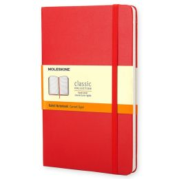 Moleskine Classic Red Pocket Ruled Notebook