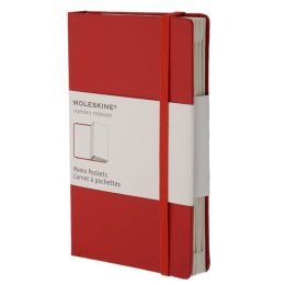 Moleskine Classic Red Pocket Memo Pockets