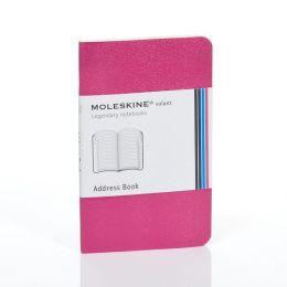 Moleskine Volant Extra Small Address Book, Magenta