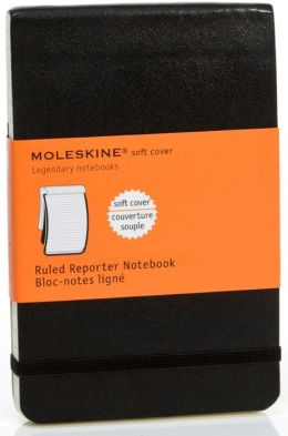 Moleskine Classic Soft Cover Pocket Ruled Reporter Notebook