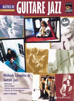 Guitare Jazz Matrise Improvisation: Mastering Jazz Guitar -- Improvisation (French Language Edition), Book & CD
