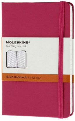 Moleskine Classic Pocket Ruled Magenta Notebook