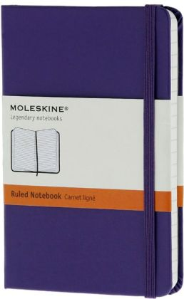 Moleskine Classic Pocket Ruled Violet Notebook