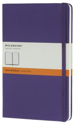 Moleskine Classic Large Ruled Violet Notebook