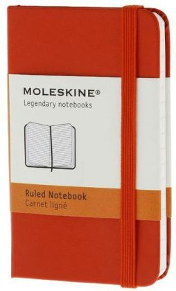 Moleskine Classic Red Extra Small Ruled Notebook