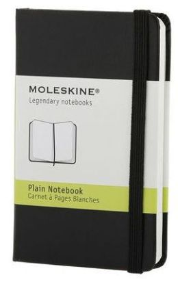 Moleskine Classic Black Extra Small Plain Notebook
