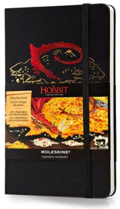 Moleskine Limited Edition Hobbit Large Plain Notebook