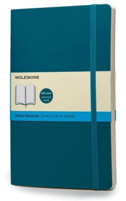Moleskine Classic Soft Underwater Blue Large Dotted Notebook