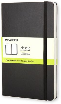 Moleskine Classic Pocket Plain Notebook