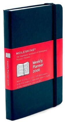2006 Weekly Pocket Moleskine Diary Calendar