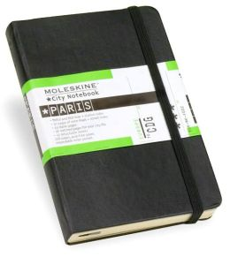 Moleskine City Notebook - Paris, Pocket, Black, Hard Cover (3.5 x 5.5)