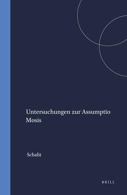 Untersuchungen zur Assumptio Mosis