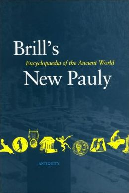 Brill's New Pauly, Antiquity, Volume 8 (Lyd -Mine)