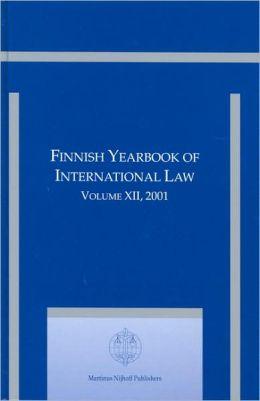 Finnish Yearbook of International Law, Volume 12 (2001)