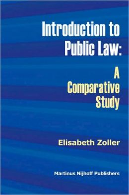 Introduction to Public Law: A Comparative Study