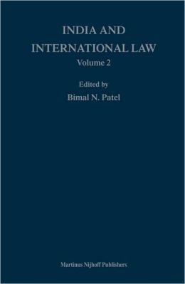 India and International Law, volume 2