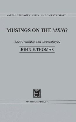 Musings on the Meno