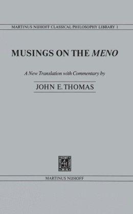 Musings on the Meno