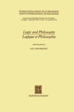 Logic and Philosophy / Logique et Philosophie