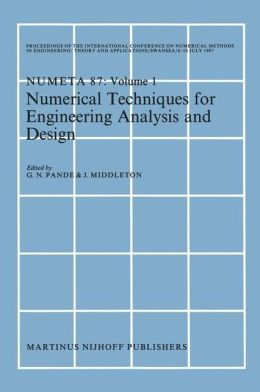 Numerical Techniques for Engineering Analysis and Design
