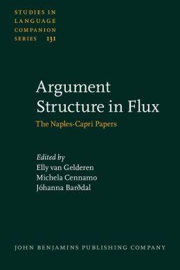 Argument Structure in Flux: The Naples-Capri Papers