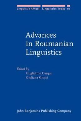 Advances in Roumanian Linguistics
