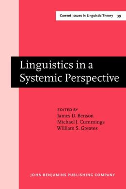 Linguistics in a Systemic Perspective