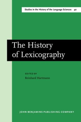 The History of Lexicography: Papers from the Dictionary Research Centre Seminary at Exeter, March 1986