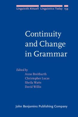 Continuity and Change in Grammar