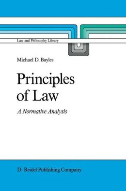 Principles of Law: A Normative Analysis