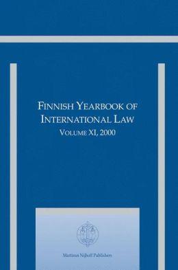Finnish Yearbook of International Law, Volume 11 (2000)