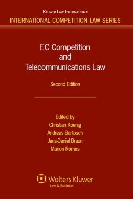 EC Competition and Telecommunications Law, 2nd edition