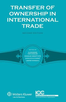 Transfer Of Ownership In International Trade
