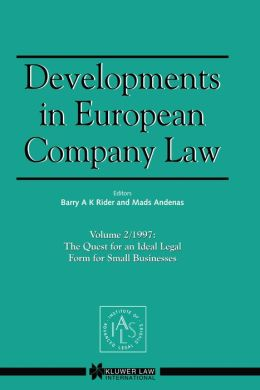 Developments In European Company Law Vol 2 1997