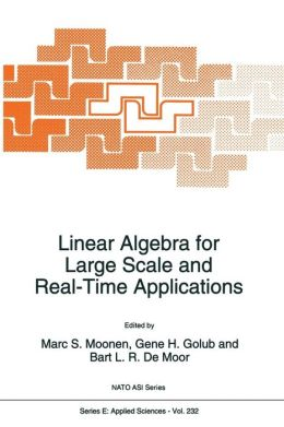 Linear Algebra for Large Scale and Real-Time Applications