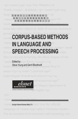 Corpus-Based Methods in Language and Speech Processing