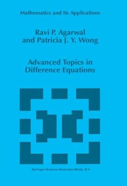 Advanced Topics in Difference Equations