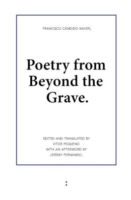 Poetry from Beyond the Grave