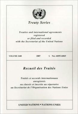 Treaty Series 2448